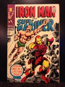 Iron Man vs Sub-Mariner #1