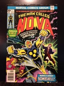 The Man Called Nova #1