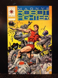 Magnus the Robot Fighter #0
