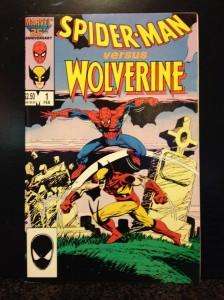 Spiderman vs. Wolverine #1